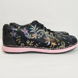 ALEGRIA PG Lite  Womens Black Floral Multi Color